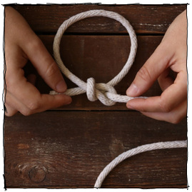 How to tie a bowline 9original large composite