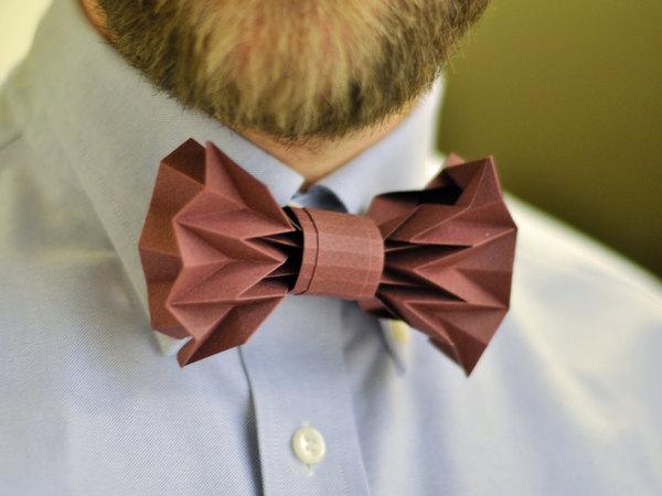Как сделать бабочку галстук своими руками видео
