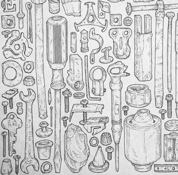 Illustrated tools