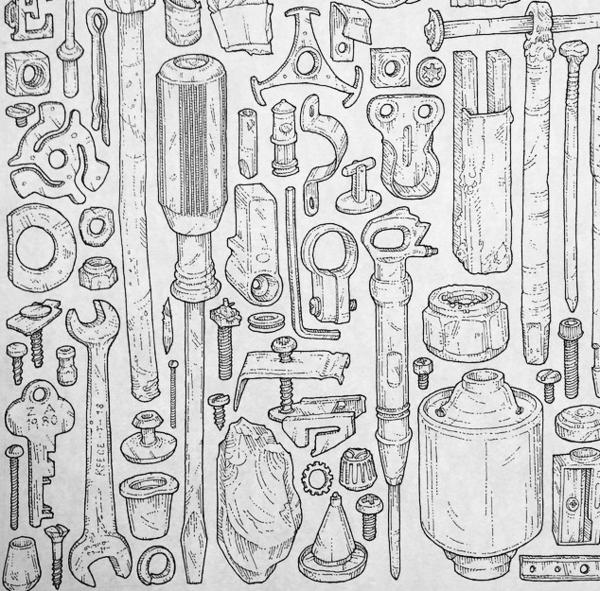 Illustrated tools