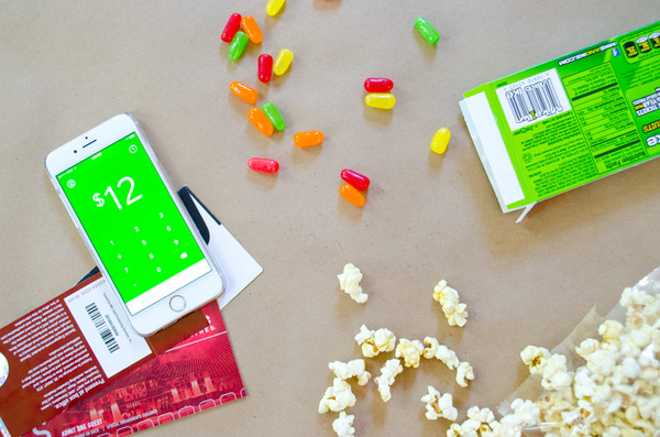 Pay for movies with Square Cash