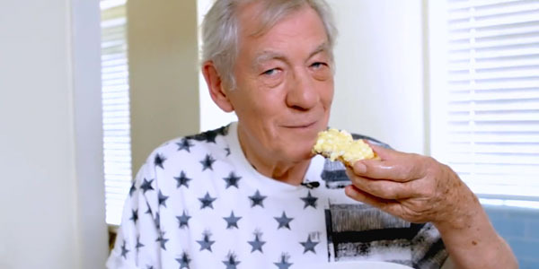 Ian McKellen Teaches You How to Make the Best Scrambled Eggs in the World