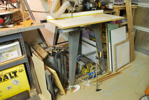 Wasted Space Radial Arm Saw