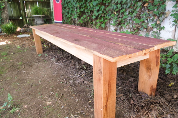 Weekday Projet: Make a Cedar Bench in Less Than 2 Hours
