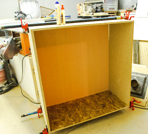 Glued-Up Cabinet Carcass