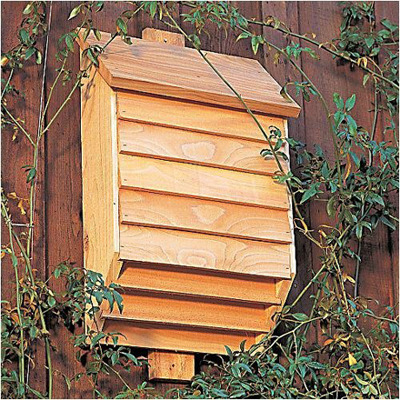 Mosquitos Bugging You Get A Bat House Man Made Diy