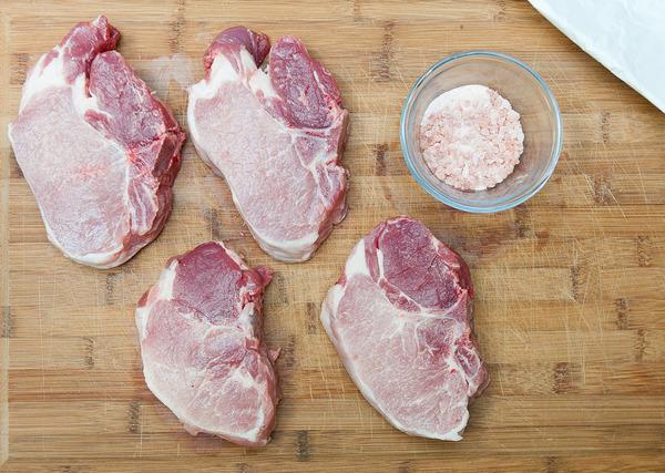 Fresh Raw Pork Loin Curing