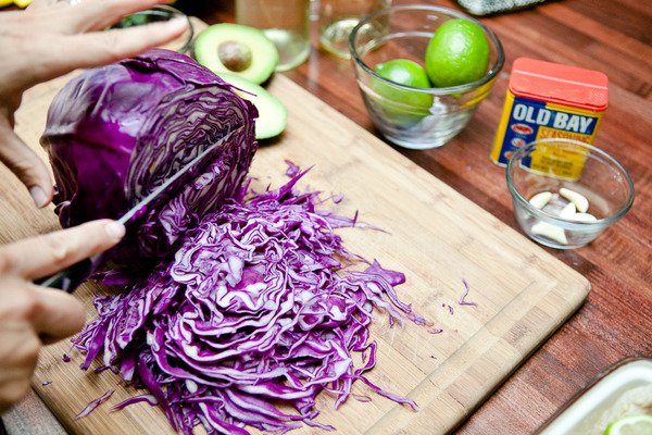 Chopping the Cabbage