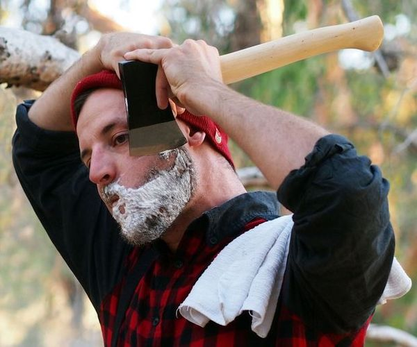 Yes You Can Shave With An Axe Here S How To Do It Man