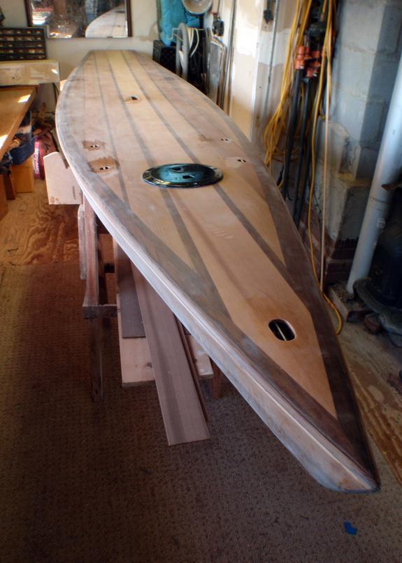Sanded Paddleboard