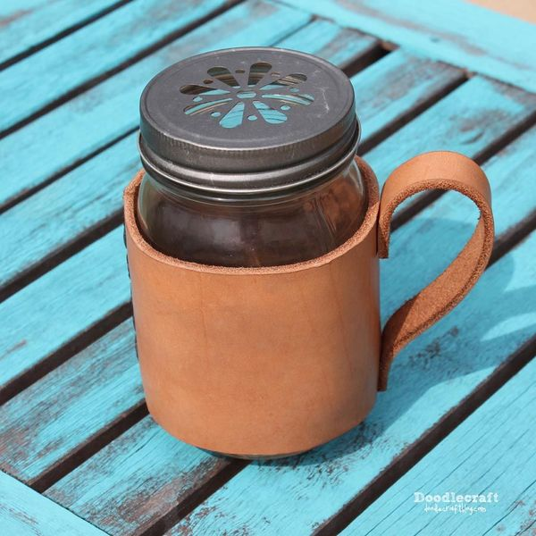 Leather Cup Holder