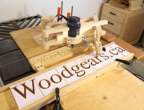 Carpentry Groove  Letters