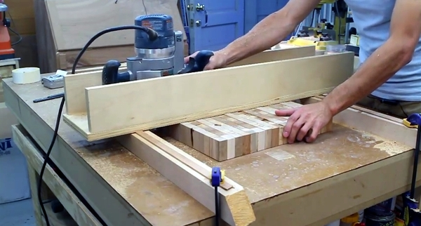 How To Flatten And Thickness Large Slabs Of Wood With A Diy Router