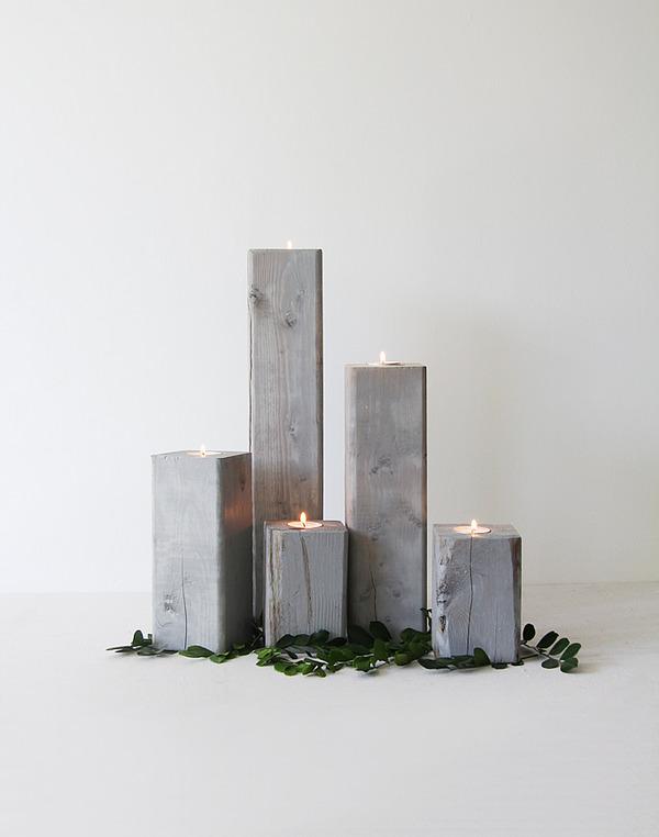 cut off votive candles
