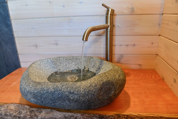 rocks in bathroom sink yes you can carve your own bathroom sink made 20223