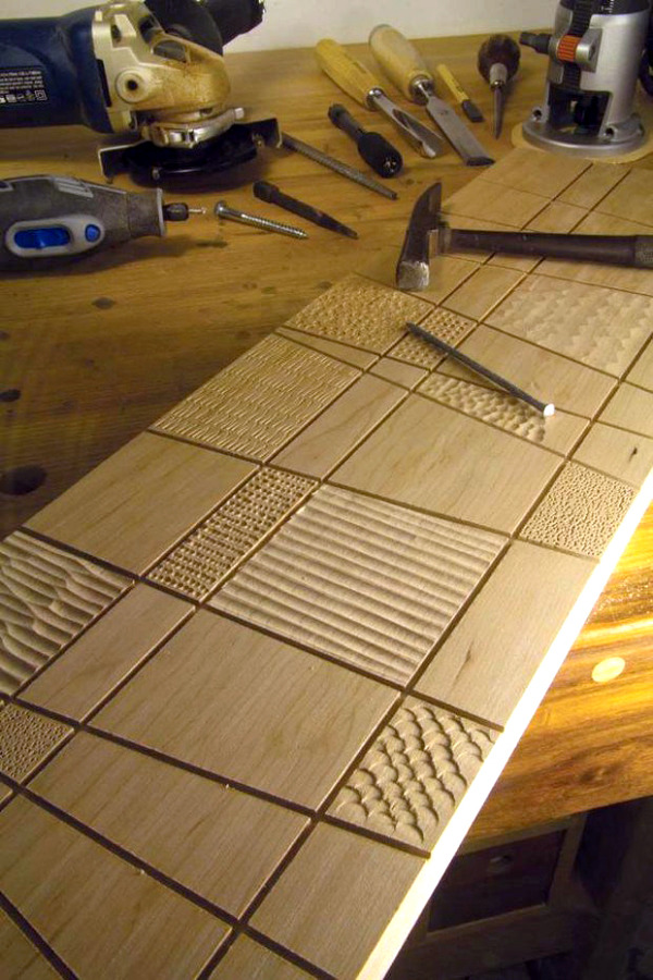 12 Ways To Add Texture To Your Woodworking Projects Man Made Diy