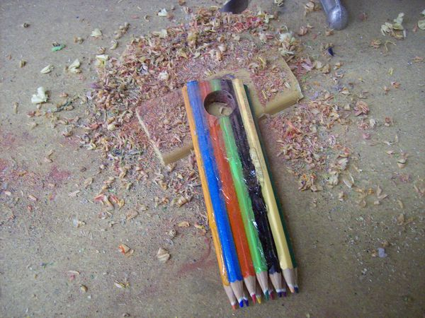 Glued Up Pencils
