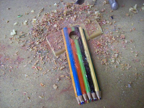 Glued Up Pencils