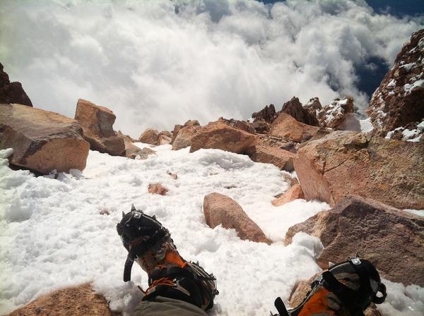 Atop Mount Whitney