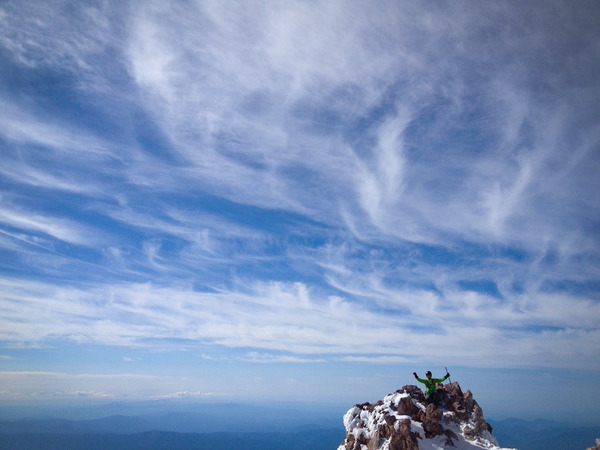 Summiting!