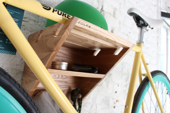 Bike Rack Wooden