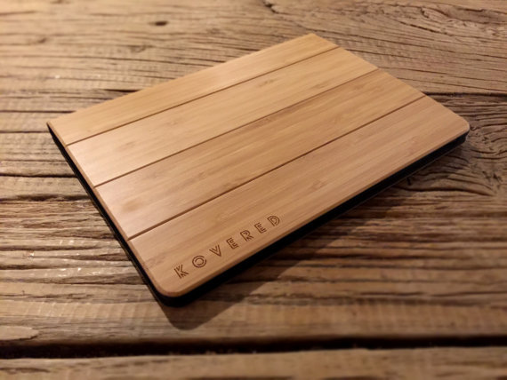 Wooden Tablet Cover