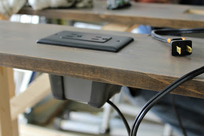 Make It Diy Sofa Table With Outlets Man Made Diy