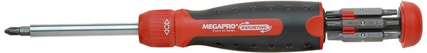 MegaPro 13-in-1 ratcheting screwdriver
