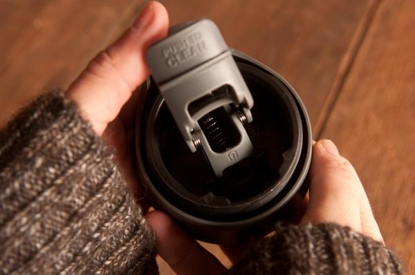easy clean lid for coffee mug
