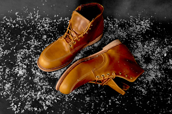 Woolrich Yankee lined leather boot