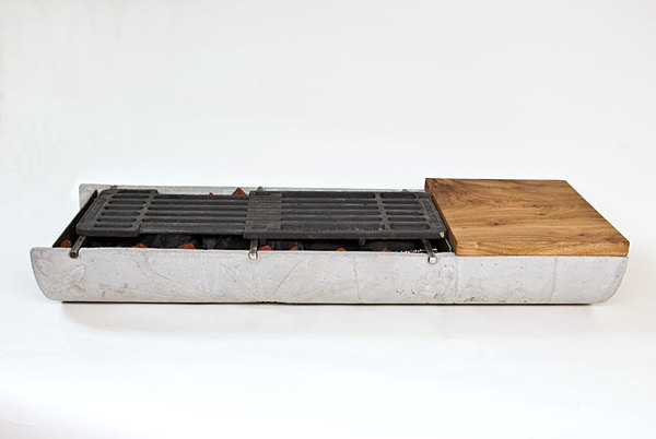 Great How To: Build A Tabletop Hibachi Grill From Concrete