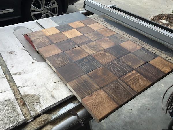 make this: wood block wall calendar | man made diy | crafts for