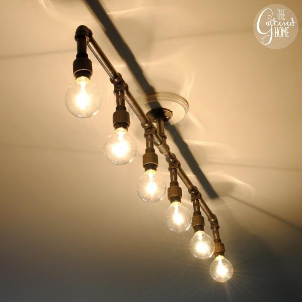 your shop lights don 39 t have to look like shop lights man made diy. Black Bedroom Furniture Sets. Home Design Ideas