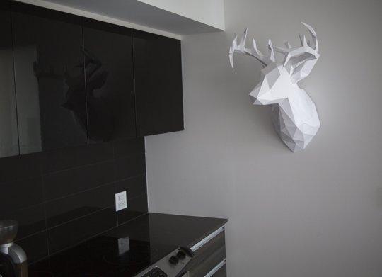 how to make reindeer 3d
