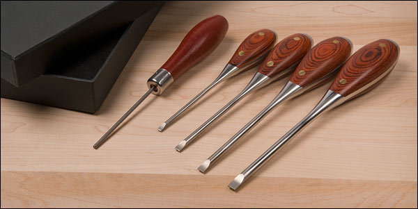 Lee Valley Parallel Tip Screwdrivers
