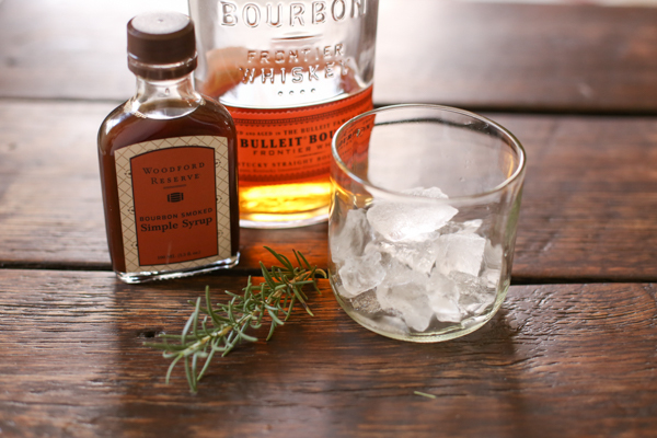 Make this: rosemary and smoke Cocktail