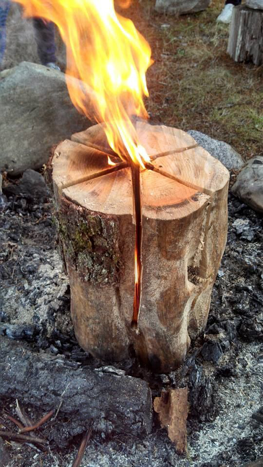 How to: Make a Swedish Flame