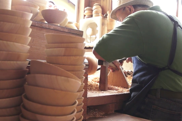 Seated Making Bowls