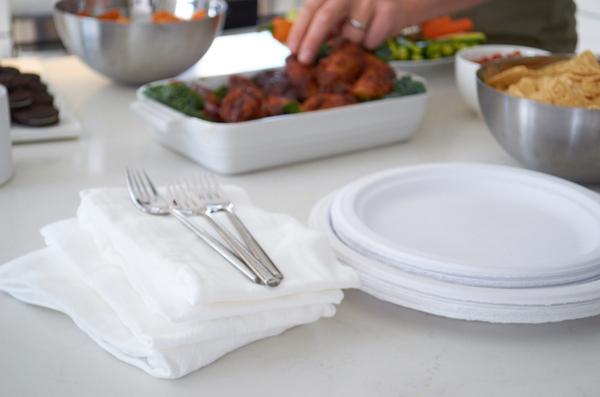 Flour sack cloth napkins