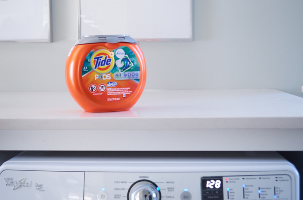Tide Pods concentrated detergent