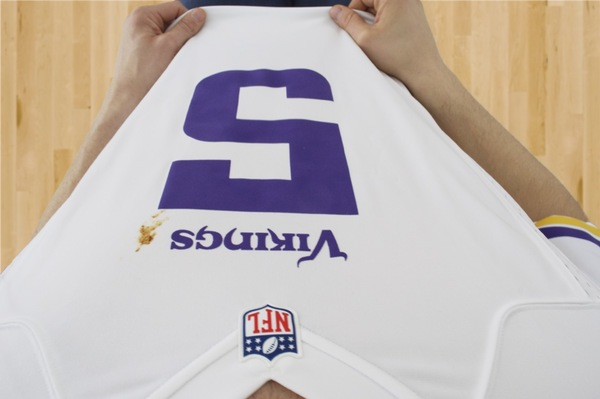 How to remove a stain from a jersey