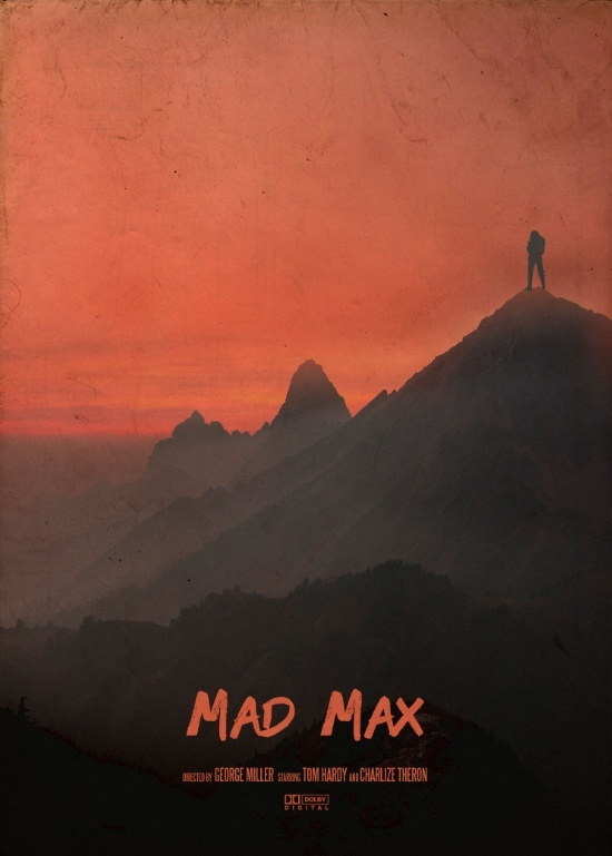A movie poster a day mad max prints large