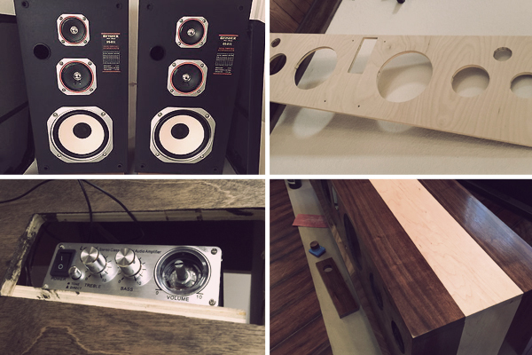 Building A Mid Century Modern Inspired Hi Fi Cabinet From Scratch