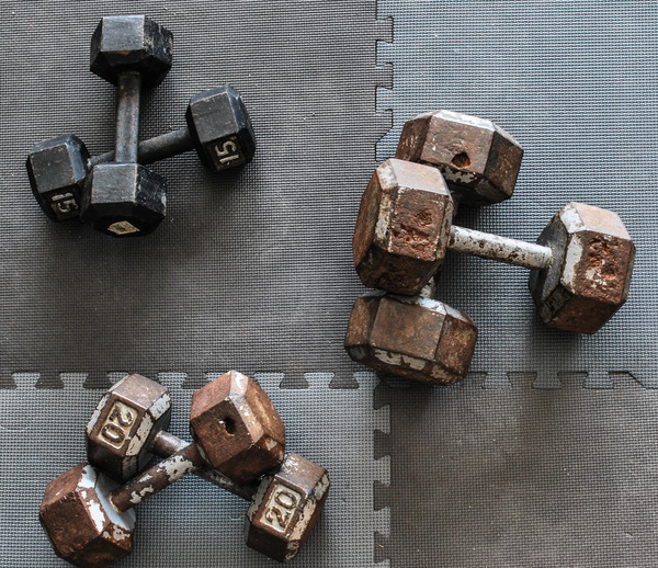 Home gym diy how to rehab your rusty weights man made diy