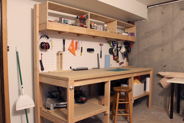 A New House Gets A New Workbench Man Made Diy Crafts