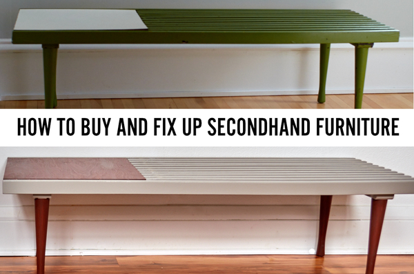 How to buy and fix up secondhand furniture