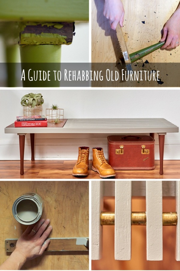 A complete guide to buying and fixing up secondhand furniture