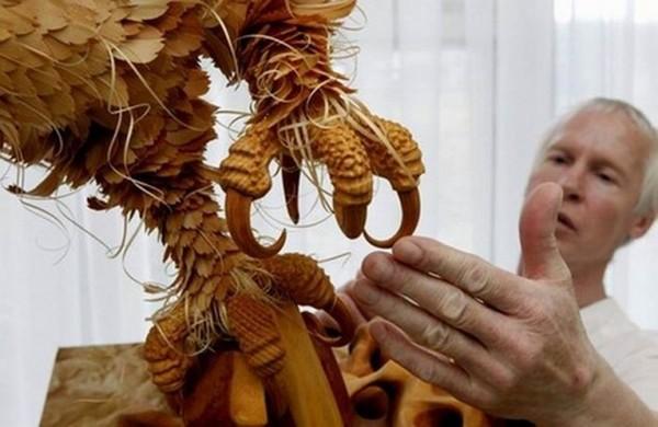 Shavings Sculpture