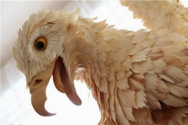 Shavings Eagle