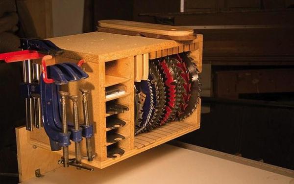 Make This: DIY Saw Blade Storage Box